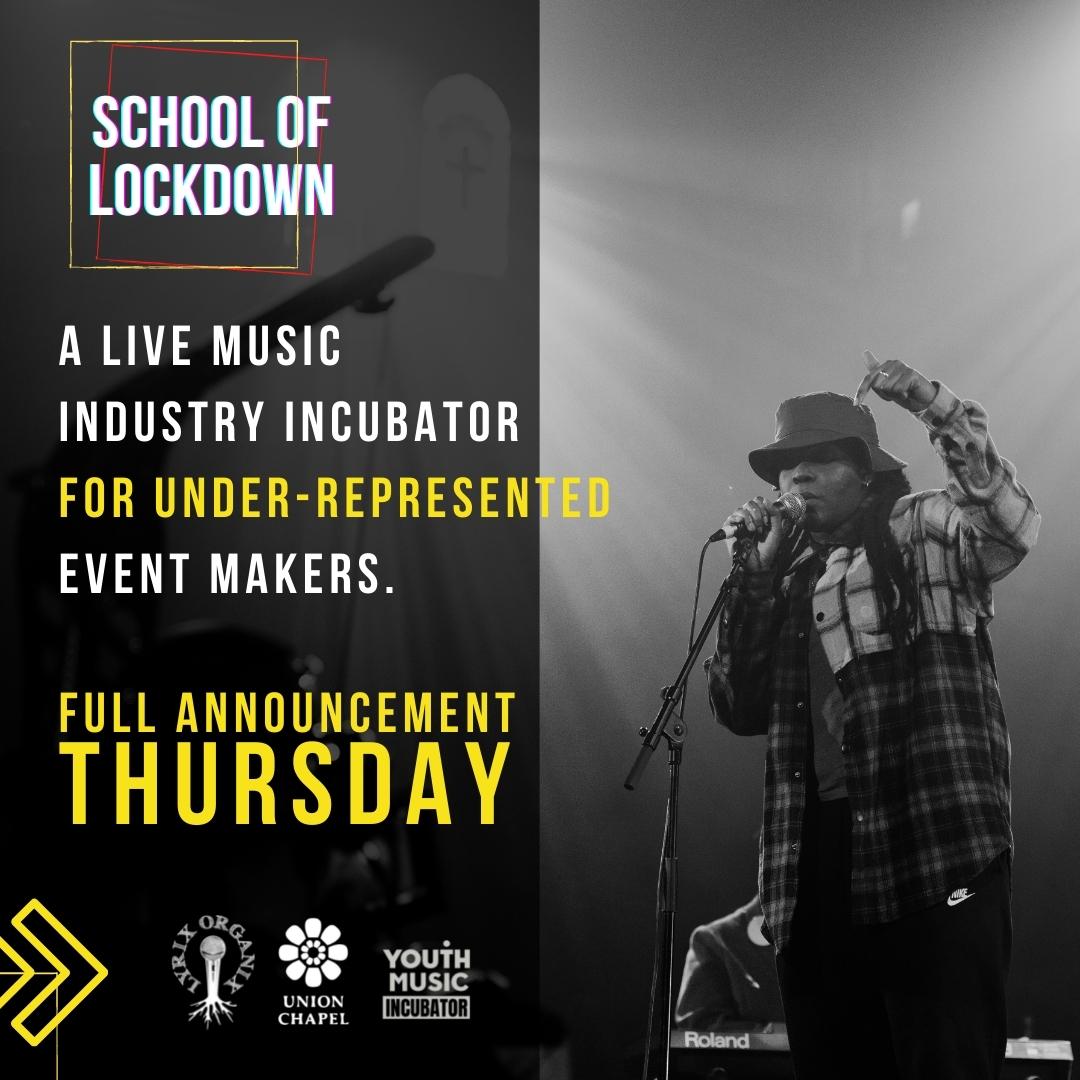 School of Lockdown x Youth Music 1